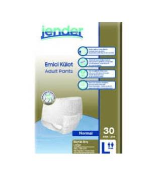 JENDER NORMAL EMİCİ KÜLOT LARGE 30LU