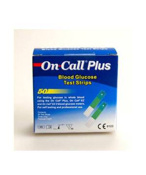 ON CALL PLUS ŞEKER ÖLÇÜM STRİBİ 50 ADET