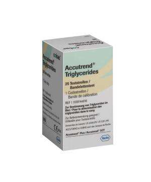 ACCUTREND TRİGLYCERİDES 25T