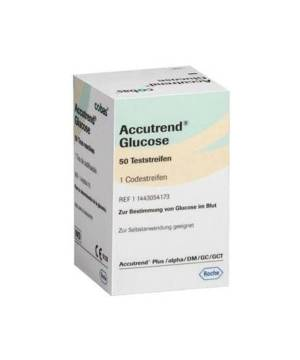 ACCUTREND GLUCOSE 25 TEST STRİBİ