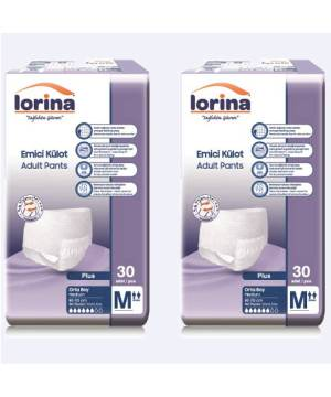 LORİNA PLUS EMİCİ KÜLOT MEDİUM 30LU